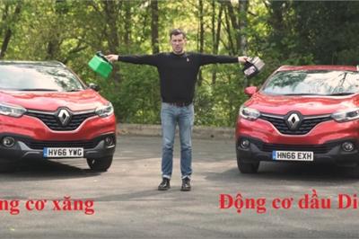 Ô tô chạy xăng và dầu, nên mua loại nào?
