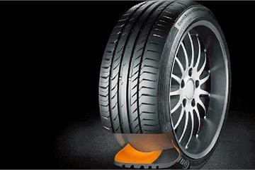 Lốp xe tự vá sắp được sản xuất
