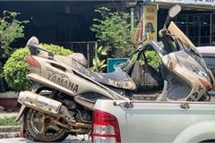 Tìm thấy xe máy nghi của phóng viên tử vong ở phà Cát Lái