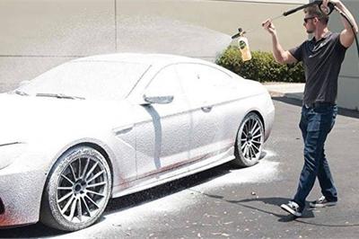 Công nghệ rửa xe không chạm sẽ thay thế rửa xe truyền thống?