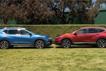 Tầm giá 1 tỷ đồng, mua Nissan X-trail hay Honda CR-V?