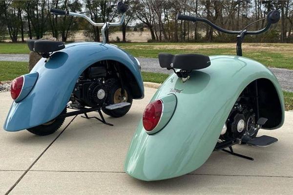 """Chiếc xe """"con bọ"""" được làm từ ốp chắn bùn của Volkswagen Beetle"""