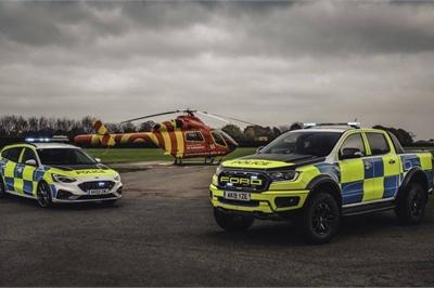 Cảnh sát Anh sắp đưa Ford Ranger Raptor vào biên chế