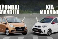 Mua xe chạy dịch vụ, chọn KIA Morning hay Hyundai Grand i10?