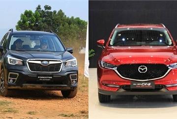 Trên 1 tỷ: Chọn Subaru Forester hay Mazda CX-5?