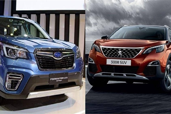 Subaru Forester và Peugeot 3008 giá 1 tỷ: Chọn an toàn hay tiện nghi?
