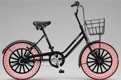 Lốp không hơi đã được sử dụng trên xe đạp, sắp được trang bị cho ô tô