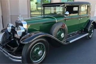 Cadillac Bulletproof 1928 của ông trùm tội phạm Mỹ được đấu giá triệu đô