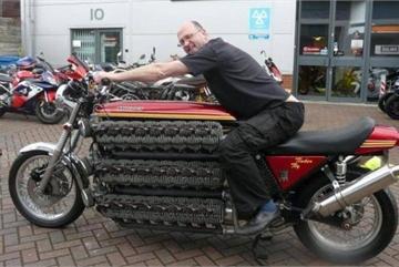 Khó tin với hàng loạt mẫu xe máy kỳ dị từng được sản xuất