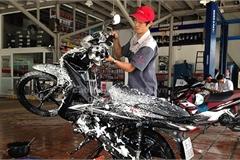 Có nên rửa xe máy khi động cơ đang còn nóng?