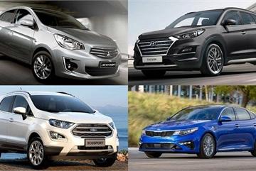 10 ô tô có giá thấp nhất phân khúc tại Việt Nam