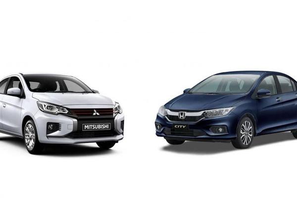 Chênh 110 triệu, chọn Mitsubishi Attrage CVT hay Honda City TOP?