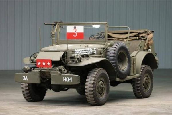 Sắp đấu giá xe chỉ huy phục vụ Đại tướng Mỹ thời Thế chiến thứ II