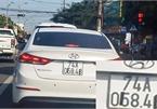 Xử nghiêm hành vi làm sai lệch biển số xe để tránh phạt nguội