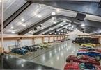 Ngắm gara chứa 100 siêu xe của tay đua lừng danh Richard Berry