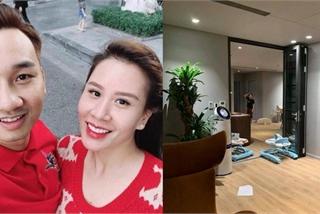 Khám phá penthouse sang chảnh mới tậu của vợ chồng MC Thành Trung
