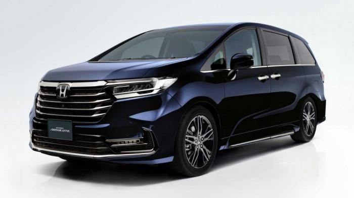 Honda Odyssey 2021 ra mắt tại Nhật giá từ 33.800 USD 10