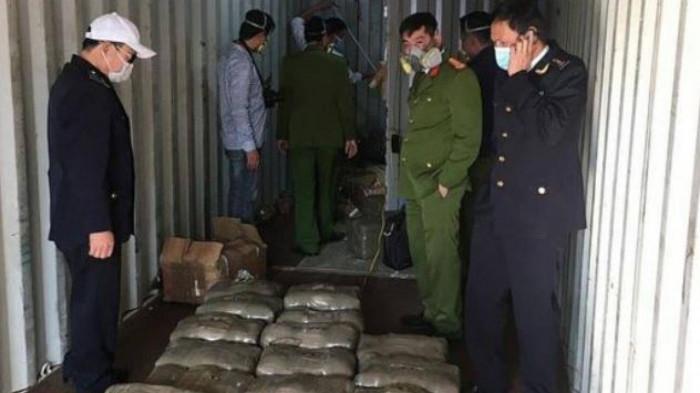 Hải Phòng: Phát hiện trên 665kg ma túy trong thùng container về cảng 1