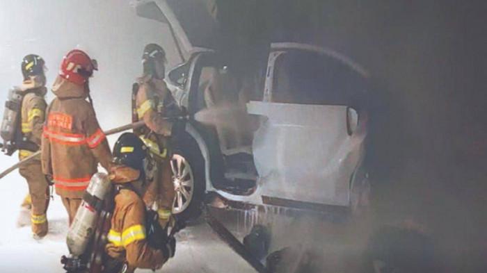 Hàn Quốc điều tra vụ cháy nổ xe điện Tesla Model X gây chết người 1