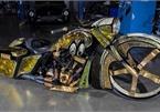 Chiêm ngưỡng xế khủng Harley Davidson Road King dát vàng