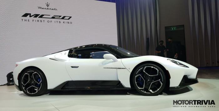 Cận cảnh siêu xe Maserati MC20 2021 ra mắt tại Thái Lan 2