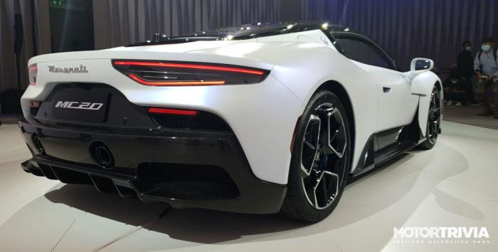 Cận cảnh siêu xe Maserati MC20 2021 ra mắt tại Thái Lan 3