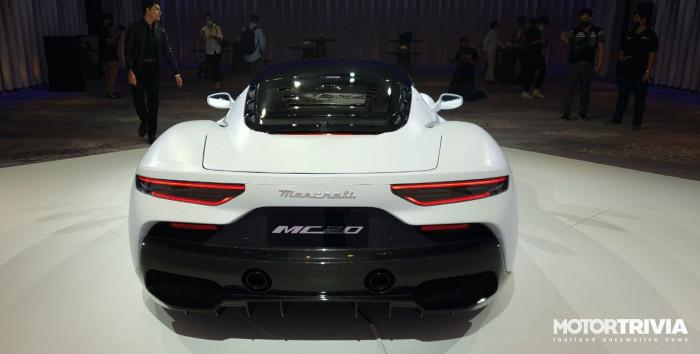 Cận cảnh siêu xe Maserati MC20 2021 ra mắt tại Thái Lan 4