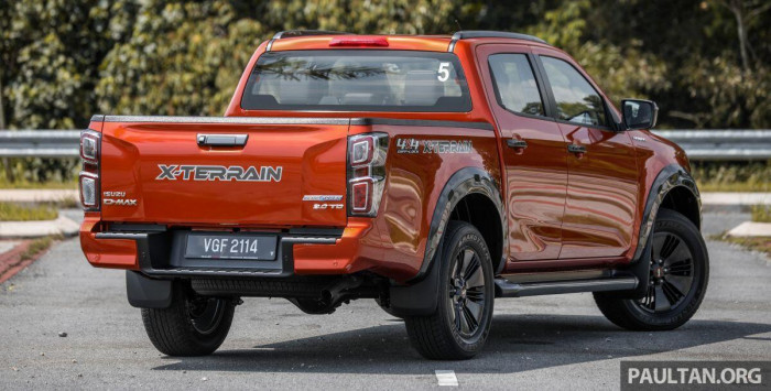 Bán tải ế nhất Việt Nam ra mắt phiên bản mới tại Malaysia, giá từ 496 triệu 3