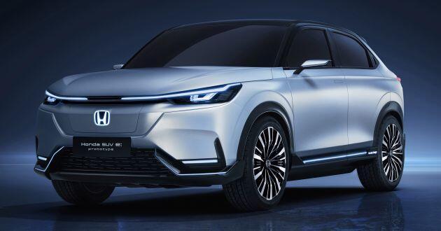 Lộ diện SUV chạy điện đầu tiên được bán đại trà của Honda 1