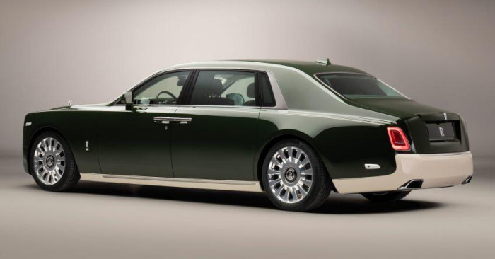 Cận cảnh Rolls-Royce Phantom Oribe 2021 dành riêng cho tỷ phú 7