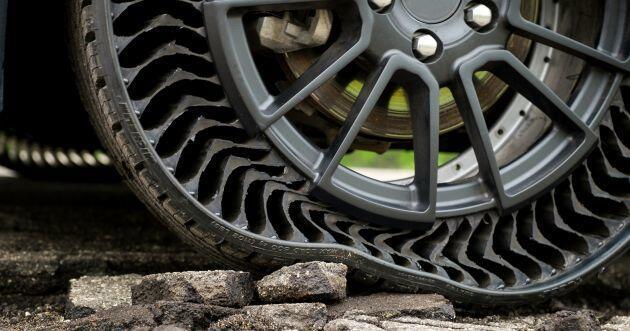 Michelin sử dụng nhựa tái chế sản xuất lốp xe 1
