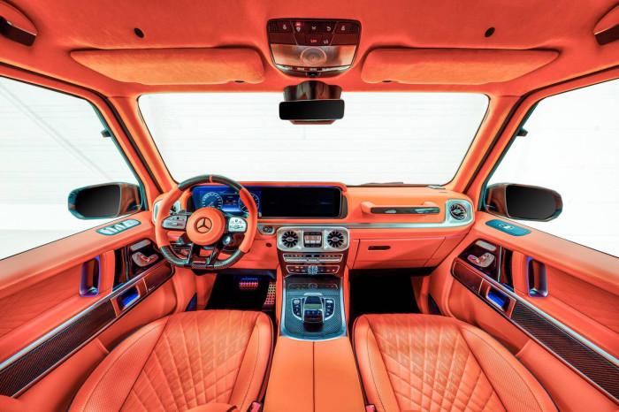 Cận cảnh Mercedes-AMG G63 sang trọng, rực rỡ dưới bàn tay hãng độ 9