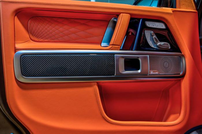 Cận cảnh Mercedes-AMG G63 sang trọng, rực rỡ dưới bàn tay hãng độ 12