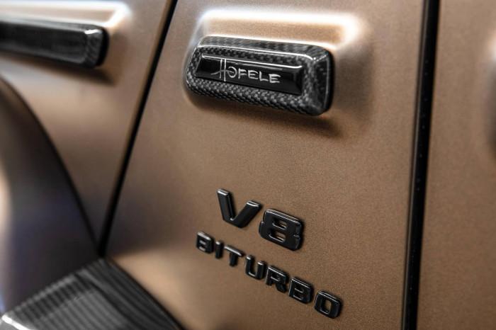 Cận cảnh Mercedes-AMG G63 sang trọng, rực rỡ dưới bàn tay hãng độ 15