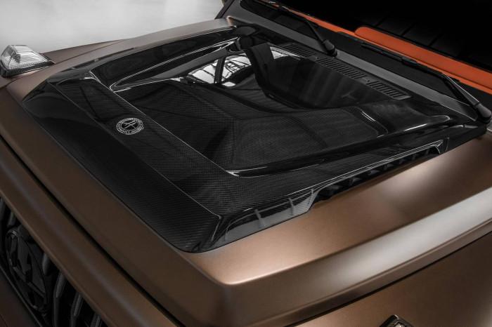 Cận cảnh Mercedes-AMG G63 sang trọng, rực rỡ dưới bàn tay hãng độ 17