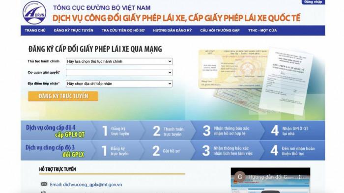 Chi phí và thủ tục đổi giấy phép lái xe ô tô mới nhất 2