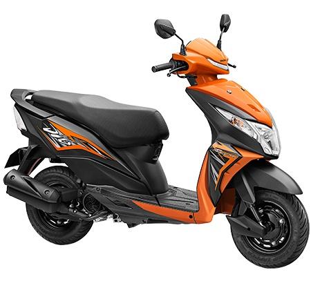 Xe tay ga Honda Dio 2021 ra mắt, giá chỉ 24 triệu đồng 2