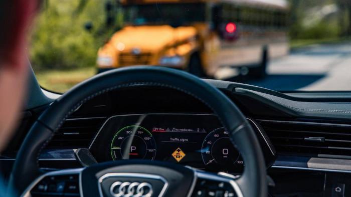 Audi thử nghiệm công nghệ có thể tự động nhận biết khu vực trường học 1