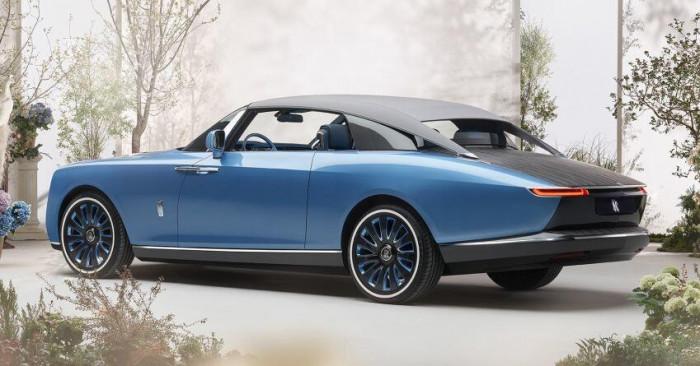 Cận cảnh xe siêu sang Rolls-Royce Boat Tail chỉ có 3 chiếc trên thế giới 5