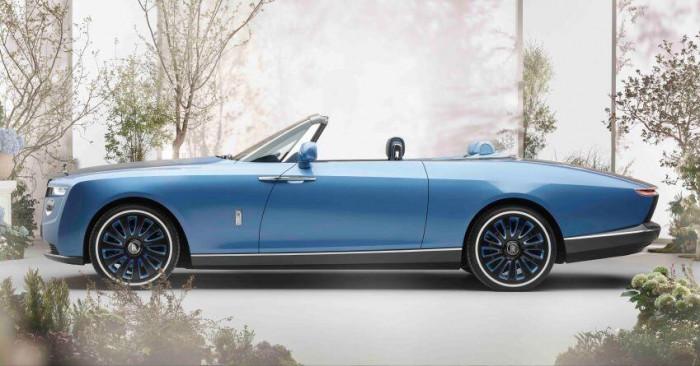 Cận cảnh xe siêu sang Rolls-Royce Boat Tail chỉ có 3 chiếc trên thế giới 6
