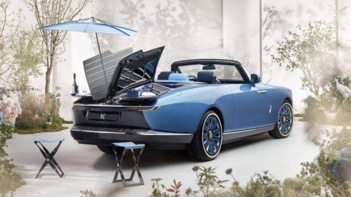 Cận cảnh xe siêu sang Rolls-Royce Boat Tail chỉ có 3 chiếc trên thế giới 1