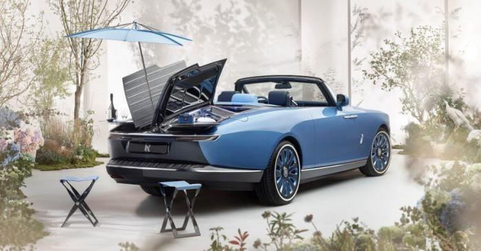 Cận cảnh xe siêu sang Rolls-Royce Boat Tail chỉ có 3 chiếc trên thế giới 7