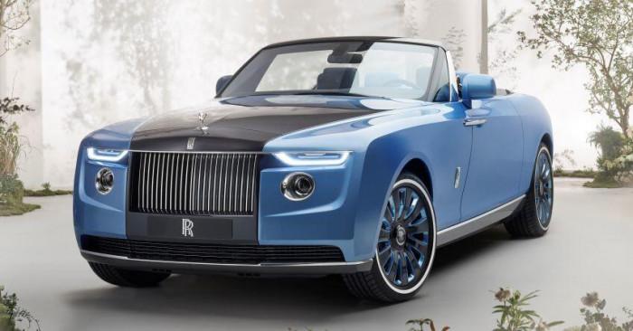 Cận cảnh xe siêu sang Rolls-Royce Boat Tail chỉ có 3 chiếc trên thế giới 2