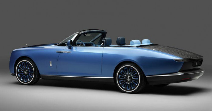 Cận cảnh xe siêu sang Rolls-Royce Boat Tail chỉ có 3 chiếc trên thế giới 9