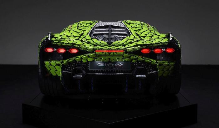 Cận cảnh siêu xe Lamborghini Sian mô hình làm từ 400 nghìn mảnh ghép Lego 6