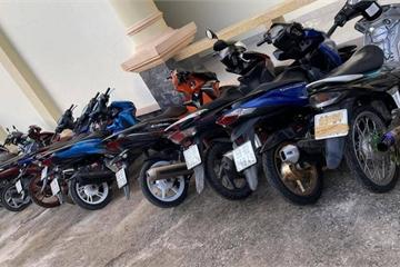 Tiền Giang: Bắt 23 đối tượng, tạm giữ 43 xe đua trái phép trên QL50