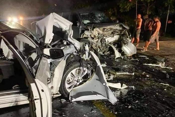 Hà Giang: Đấu đầu xe bán tải, 2 người trên xe Vinfast tử vong tại chỗ 2
