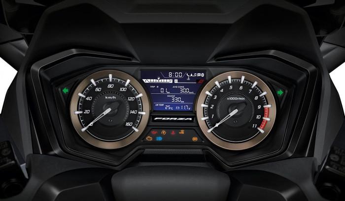 Honda Forza 350 ra mắt Thái Lan, giá bằng nửa tại Việt Nam 12