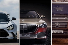 Mercedes-Benz hợp nhất AMG, Maybach và G-Class