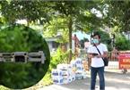 Hà Nội: 'Mắt thần' trên cao tuần tra, giám sát khu phong tỏa